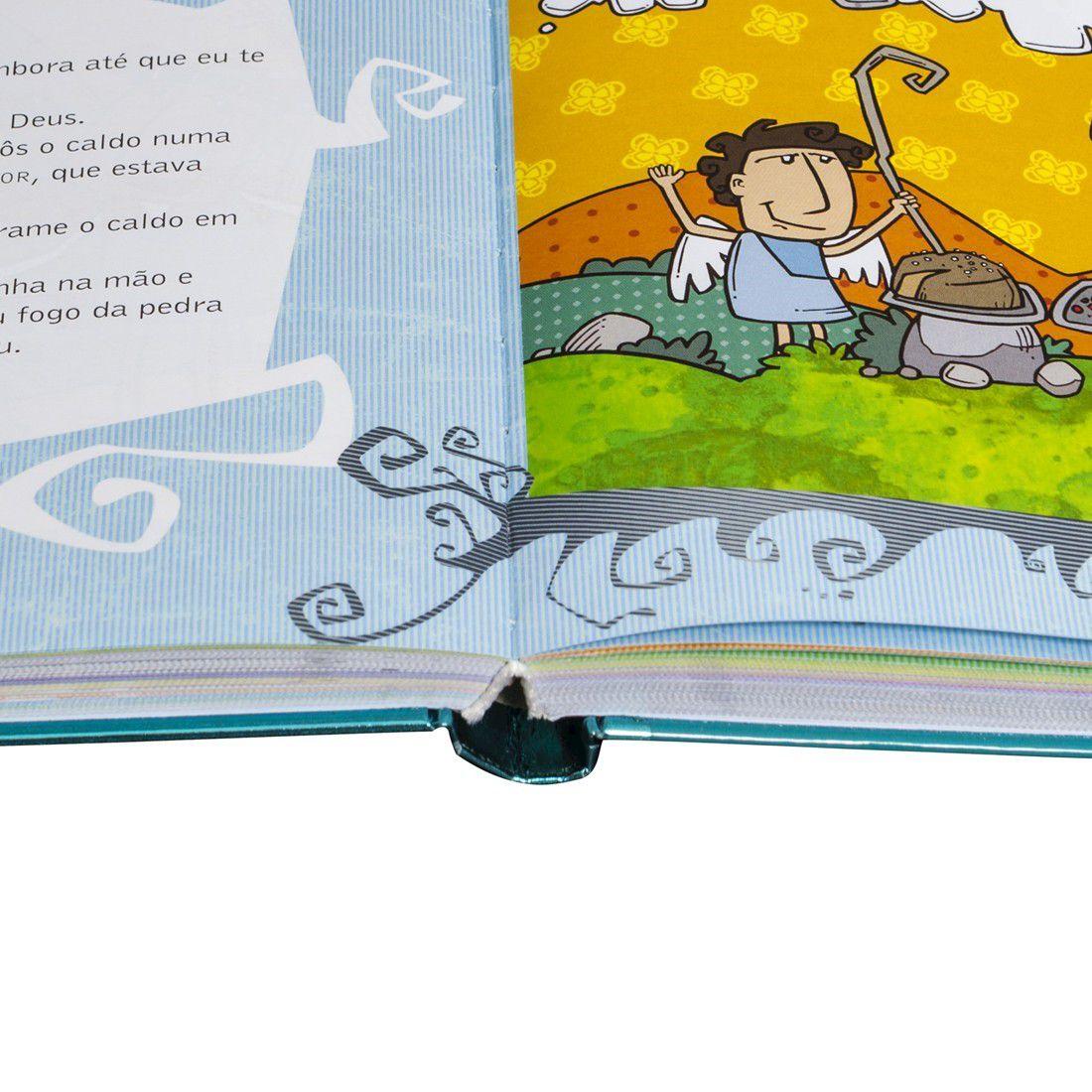 Livro Palavra da Vida - Ilustrada e Divertida  - Capa Dura
