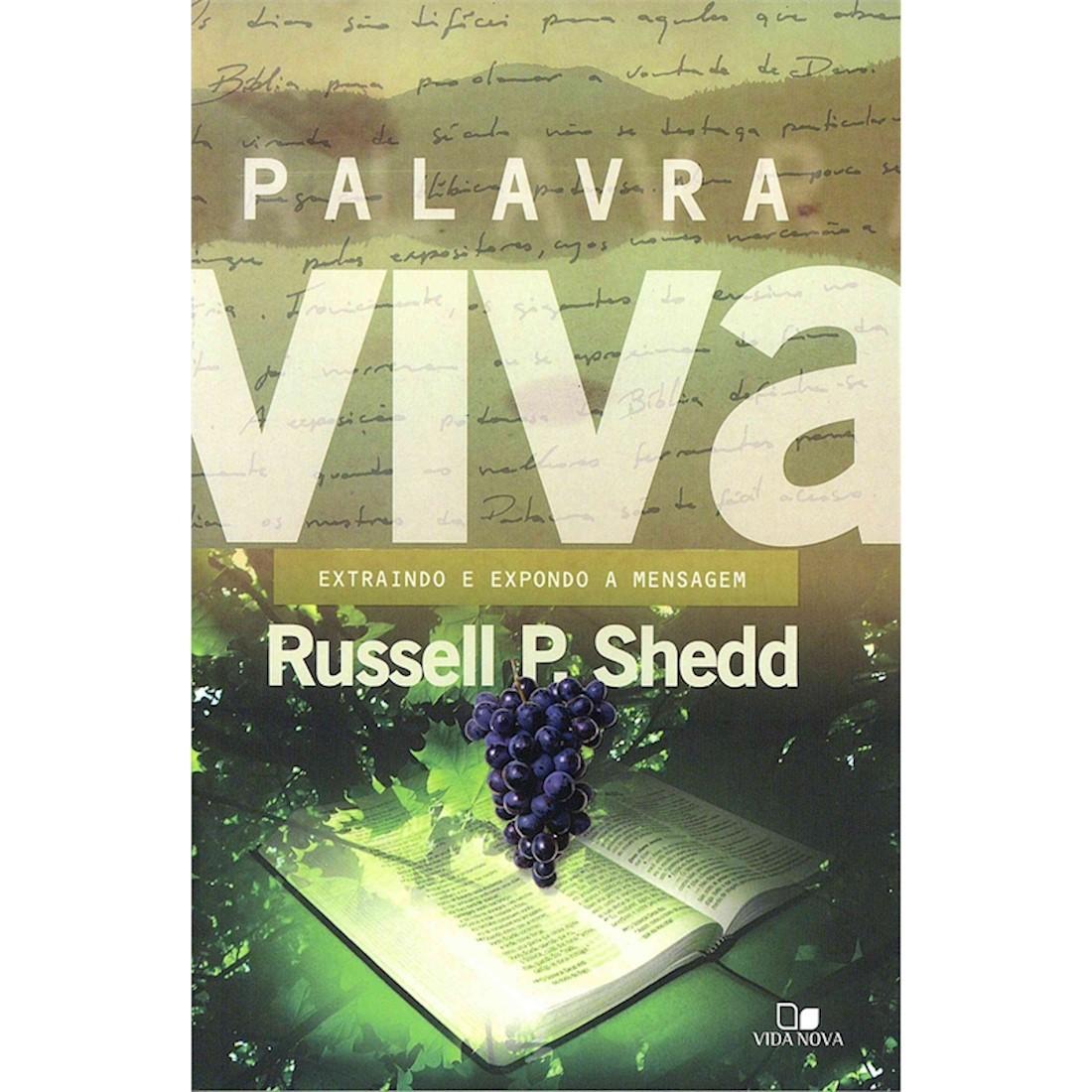 Livro Palavra Viva - Extraindo e Expondo a mensagem