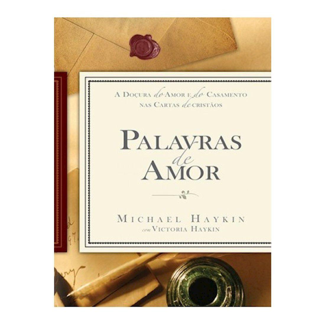 Livro Palavras de Amor