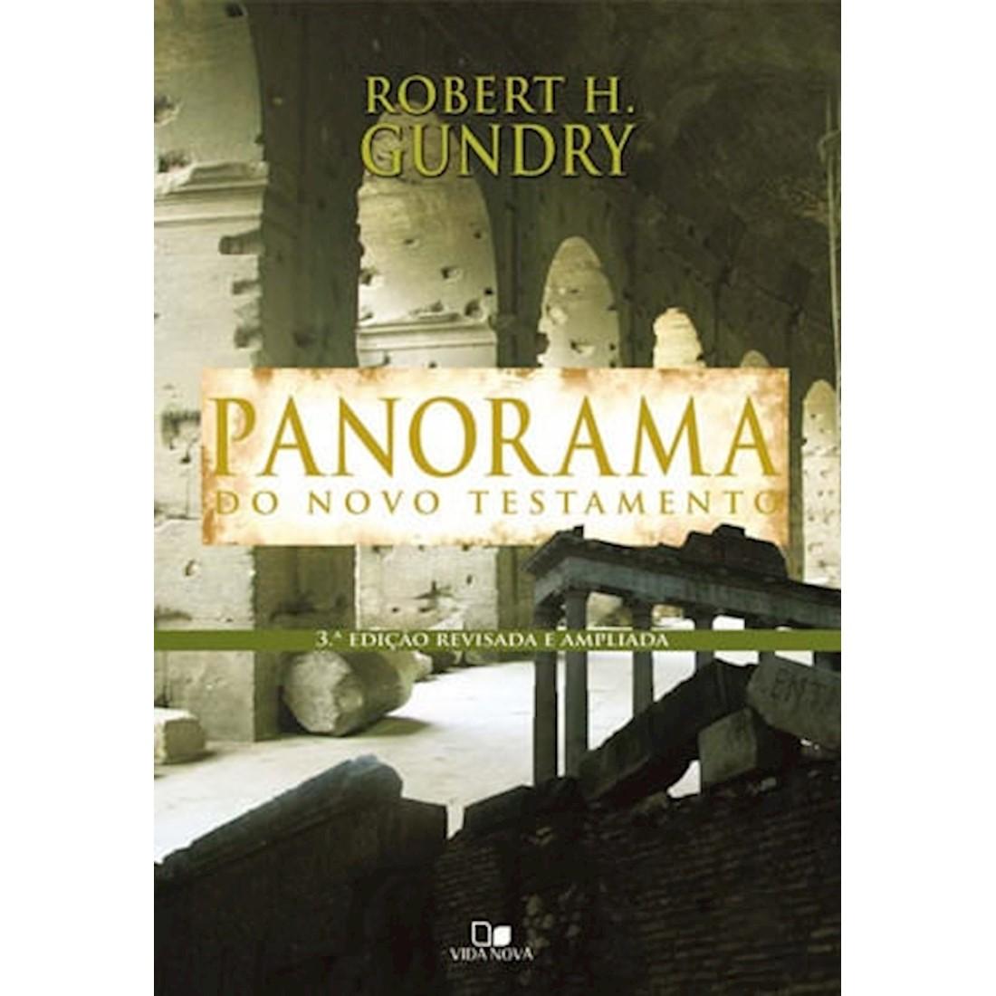 Livro Panorama do Novo Testamento - 3.o. Edição Revisada e Ampliada