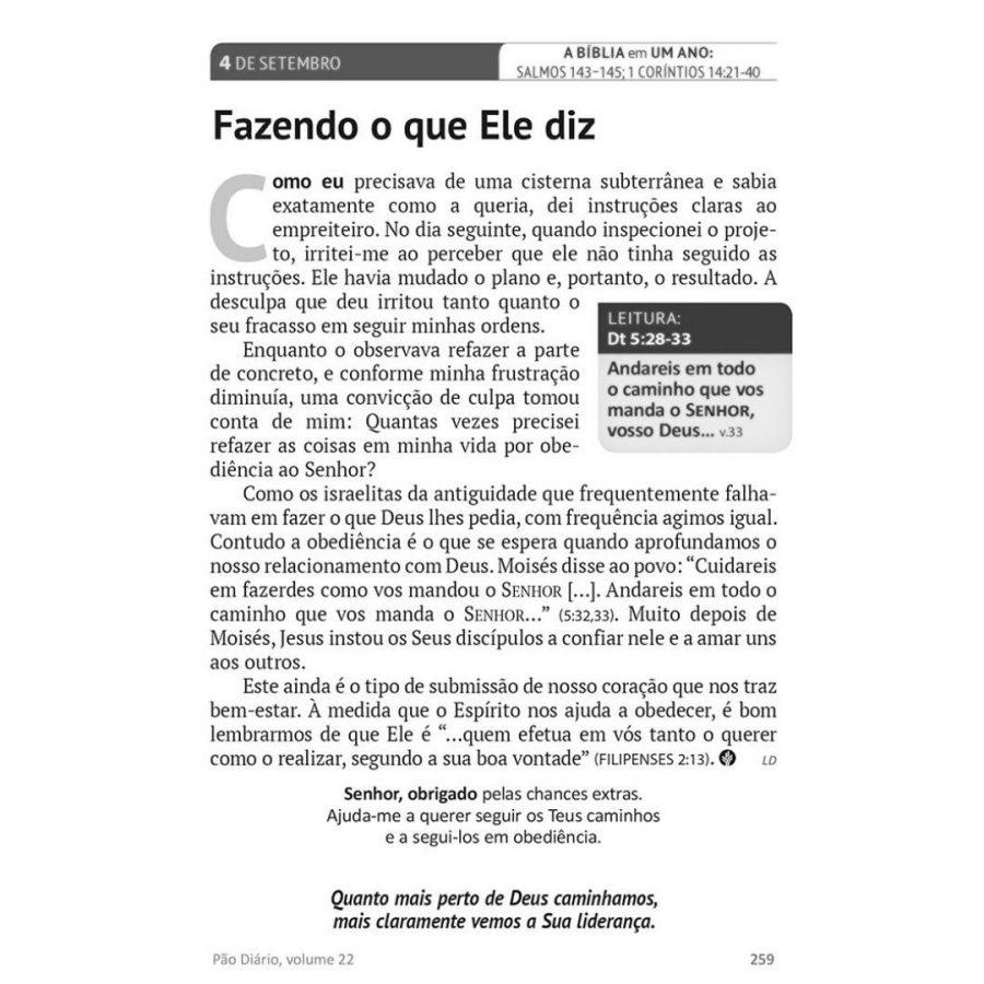 Livro Pão Diário Vol. 24 - Capa Família