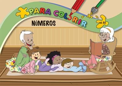 Livro Para Colorir Vol. 2 - Números