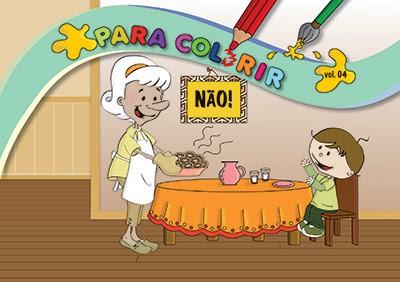Livro Para Colorir Vol. 4 - Não!