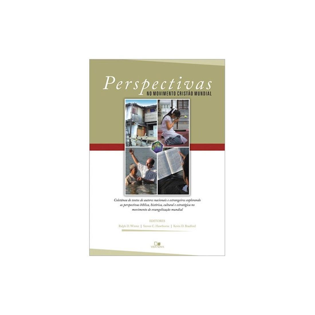 Livro Perspectivas no Movimento Cristão Mundial