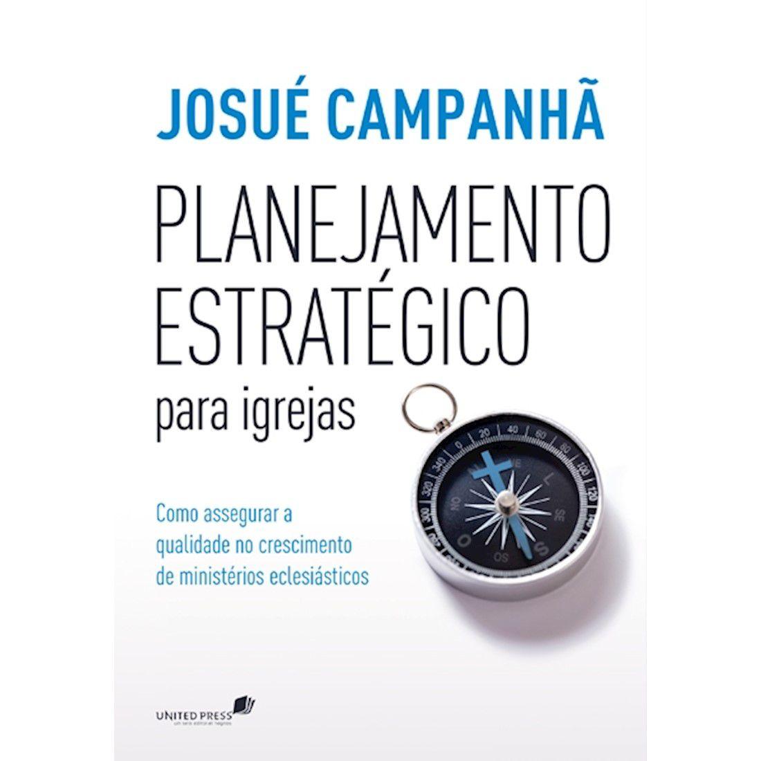 Livro Planejamento Estratégico Para Igrejas