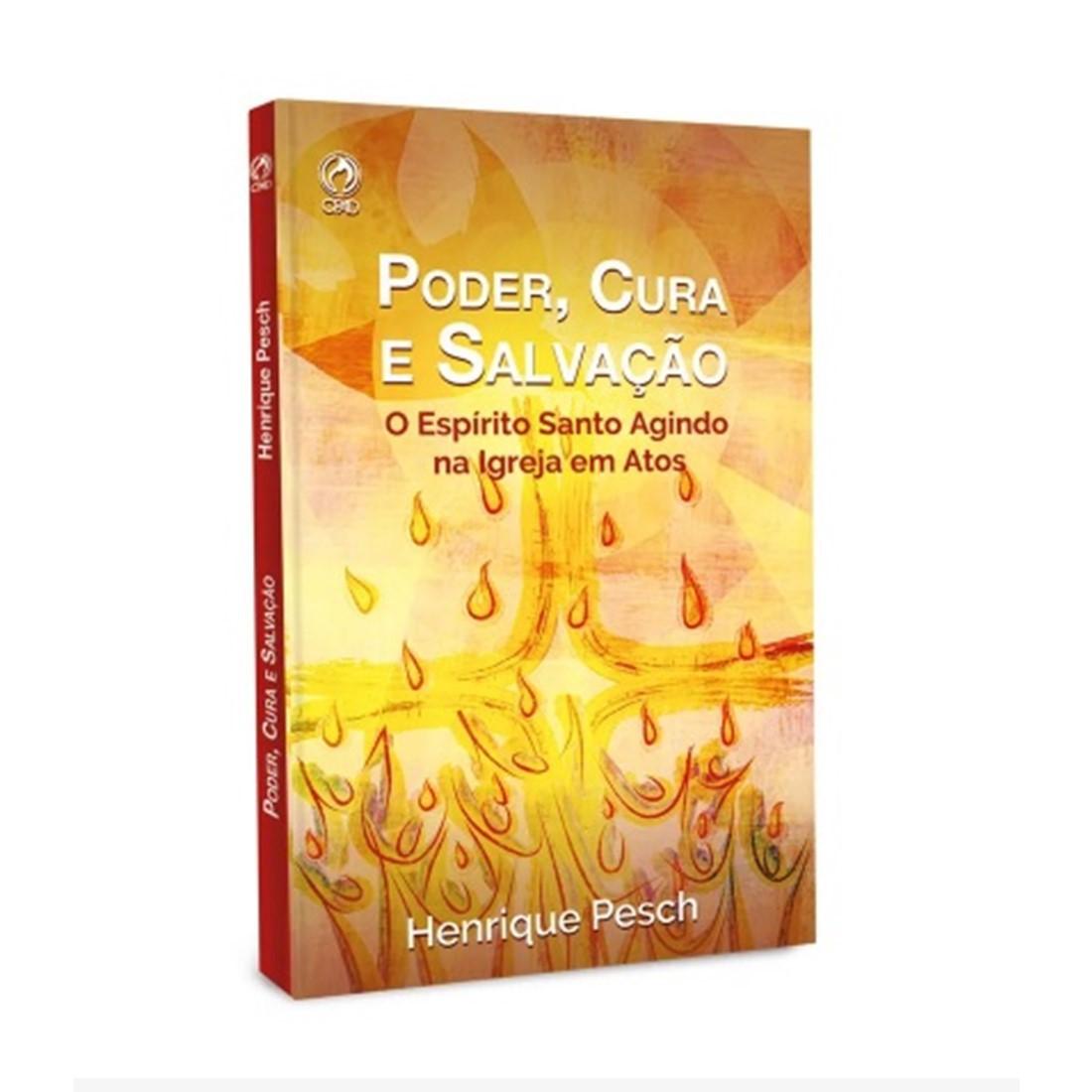 Livro Poder, Cura e Salvação - Livro de Apoio Jovens 4º Trimestre de 2019