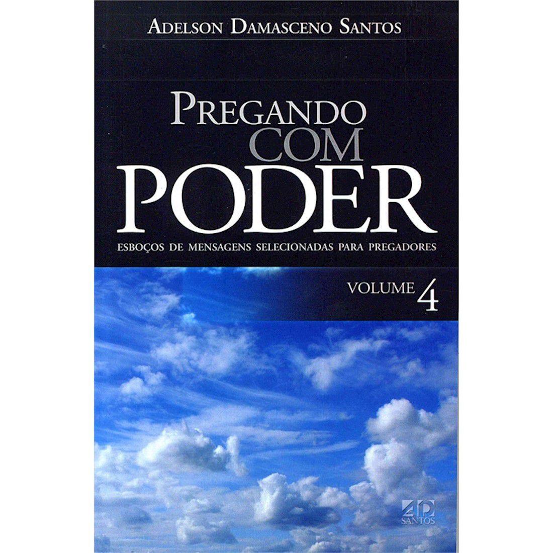 Livro Pregando Com Poder - Vol. 4