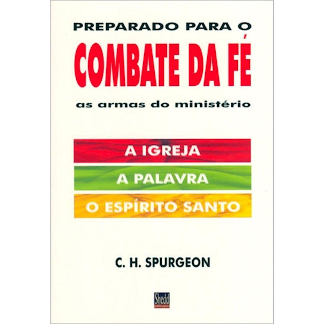 Livro Preparado para o Combate da Fé