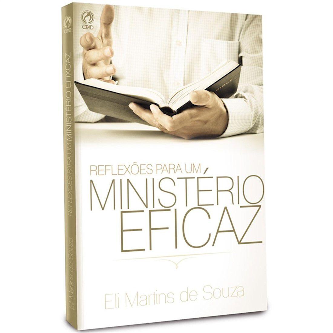 Livro Reflexões Para um Ministério Eficaz