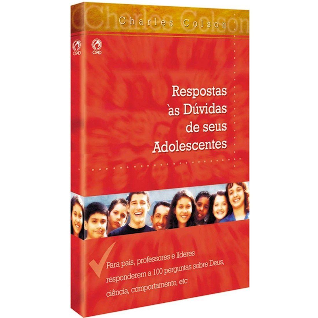 Livro Respostas às Dúvidas de Seus Adolescentes