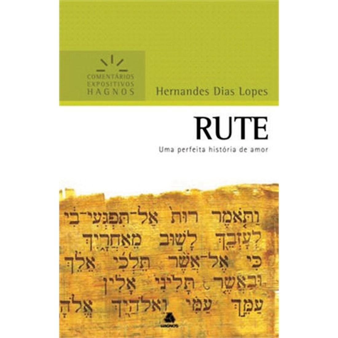 Livro Rute | Comentários Expositivos Hagnos