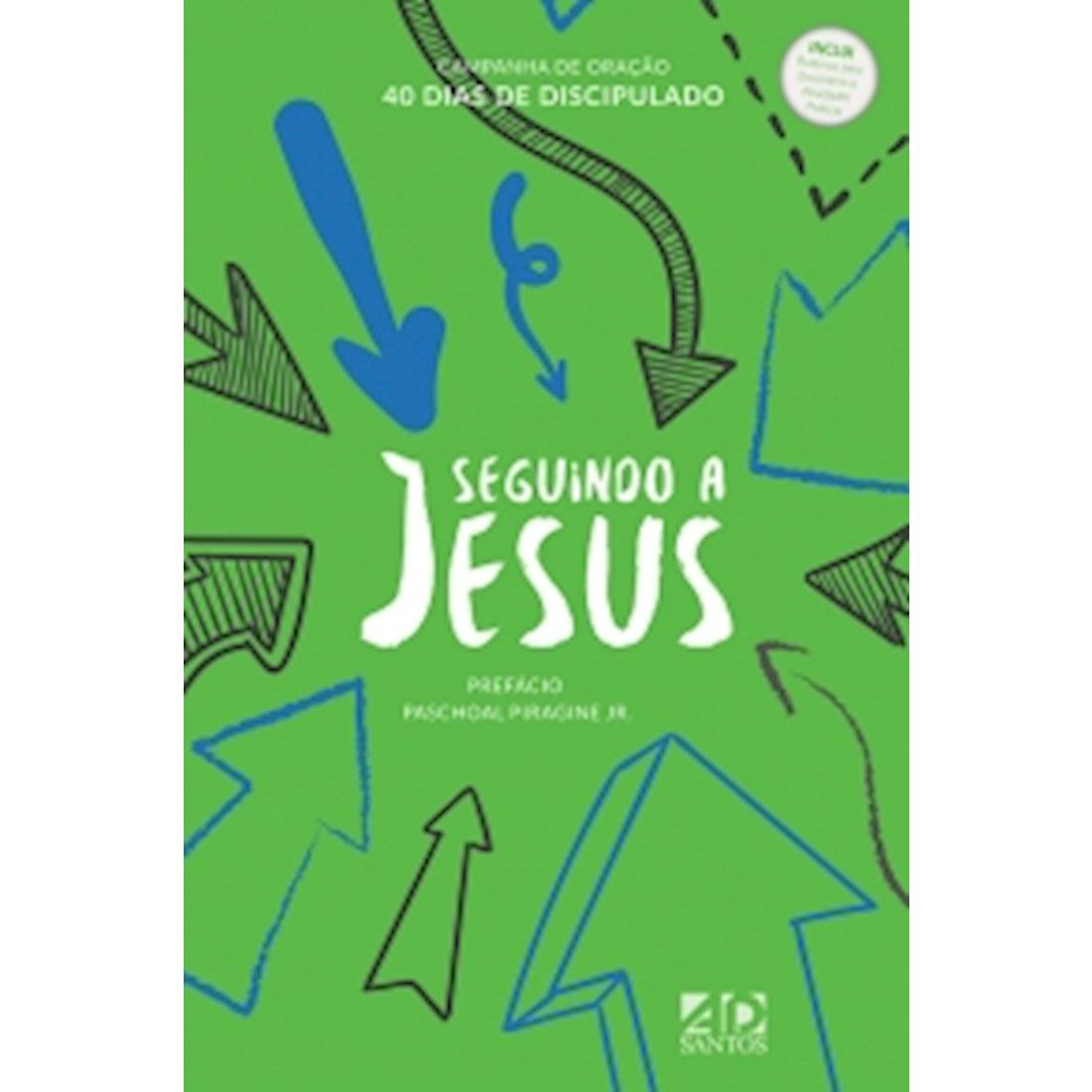 Livro Seguindo a Jesus - Capa Verde