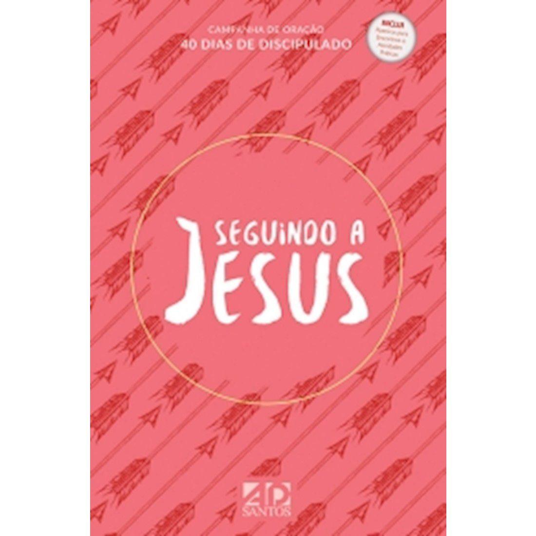 Livro Seguindo a Jesus - Capa Vermelha