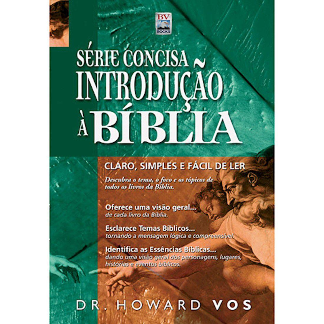 Livro Série Concisa: Introdução à Bíblia