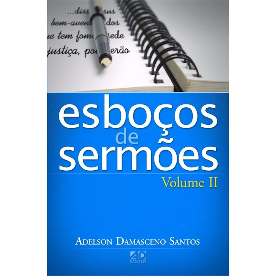 Livro Série Esboços de Sermões - Vol. II