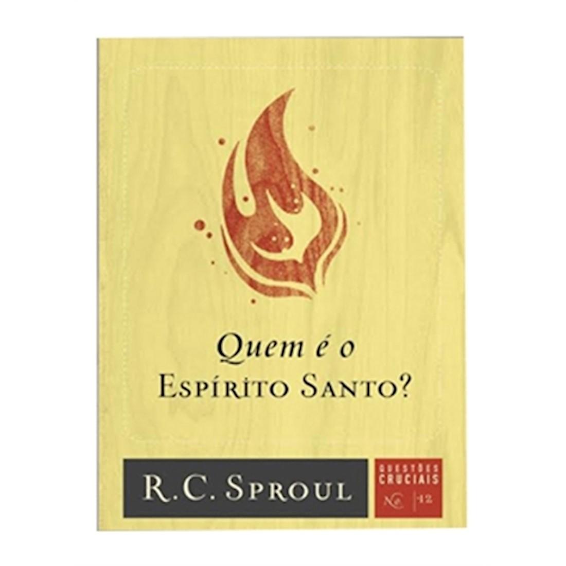 Livro Série Questões Cruciais - Quem é o Espirito Santo? - N° 12