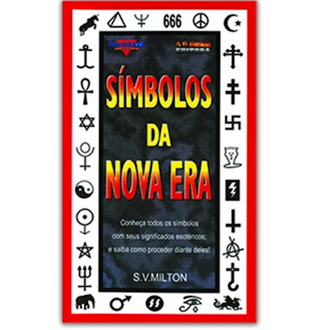 Livro Símbolos da Nova Era - Vol. 1 - Série Conhecer