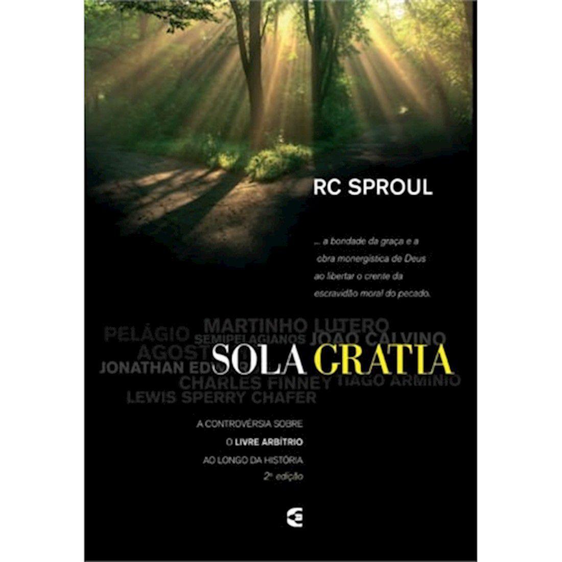 Livro Sola Gratia - 2ª edição