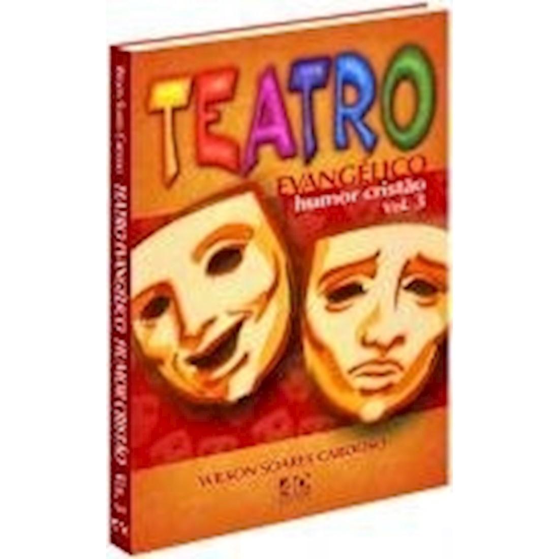 Livro Teatro Evangélico - Humor Cristão - Vol. 3