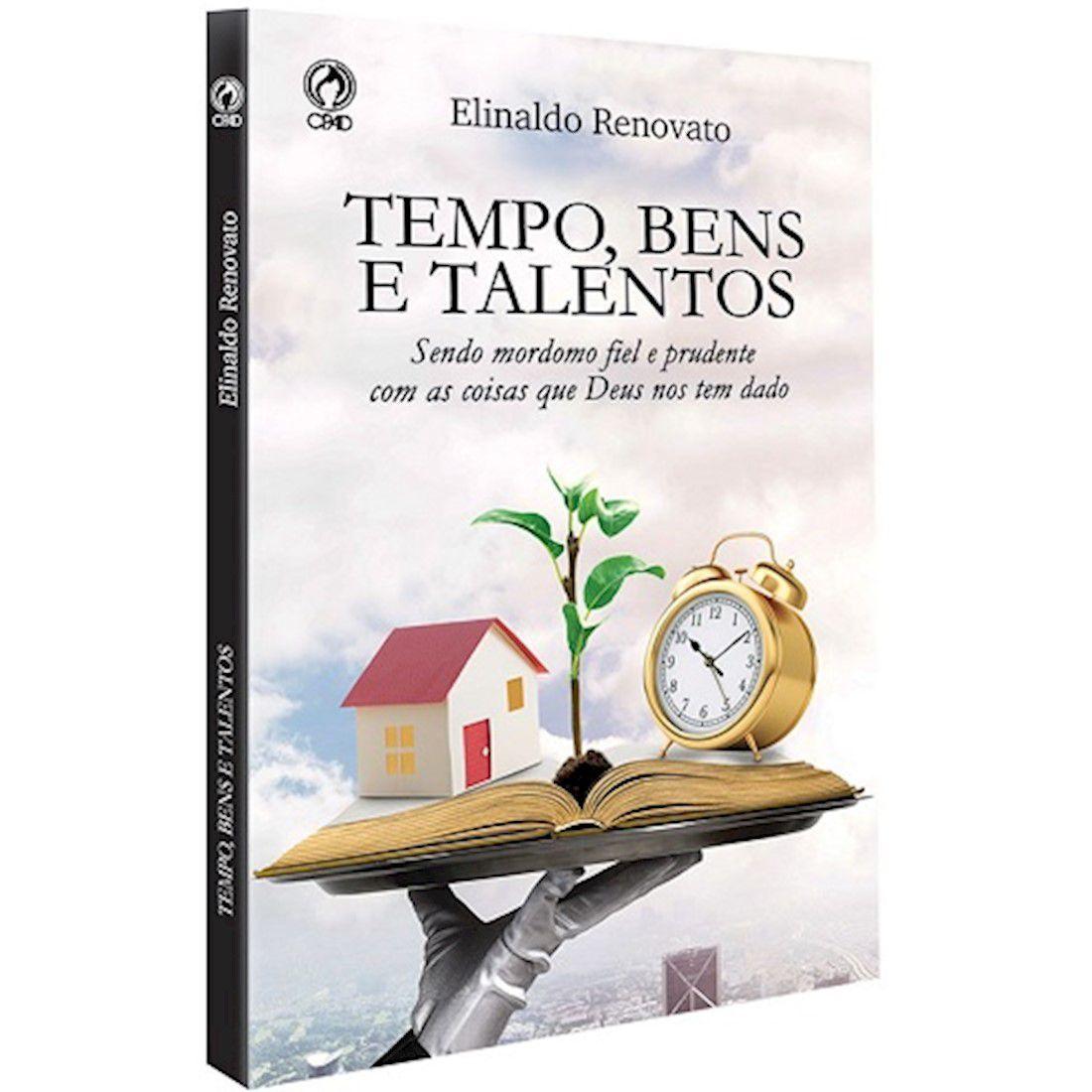 Livro Tempo, Bens e Talentos - Livro de Apoio Adultos 3º Trimestre de 2019