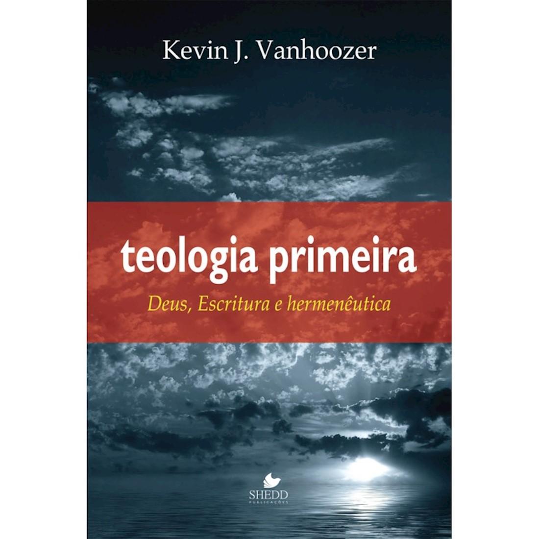 Livro Teologia Primeira