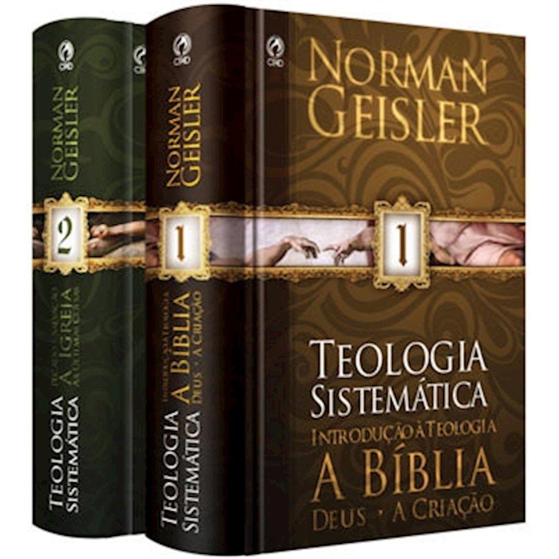 Livro Teologia Sistemática de Norman Geisler