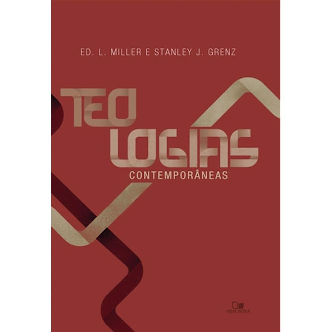 Livro Teologias Contemporâneas