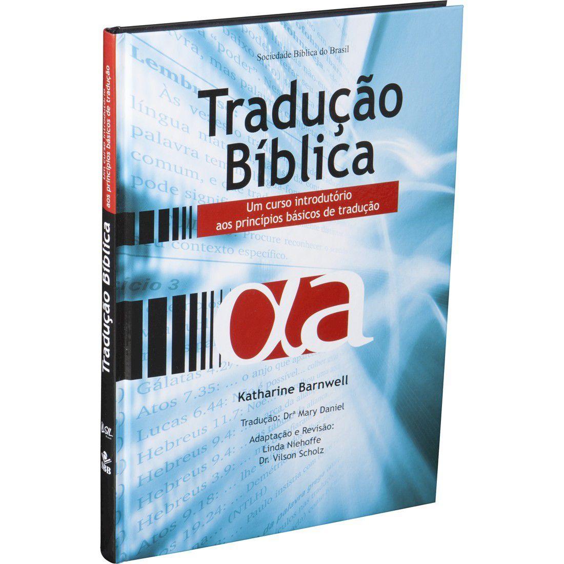 Livro Tradução Bíblica Barnwell