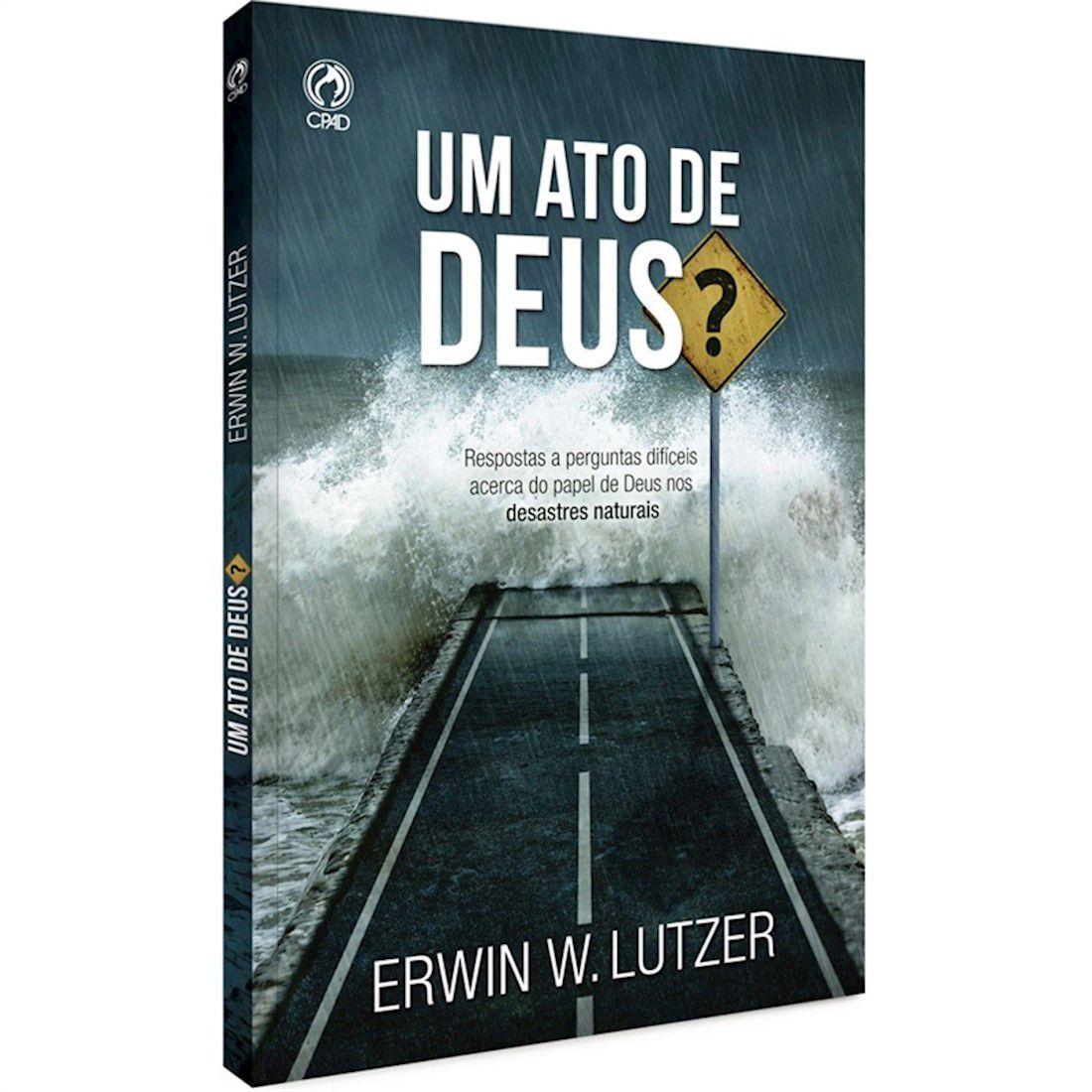 Livro Um Ato de Deus