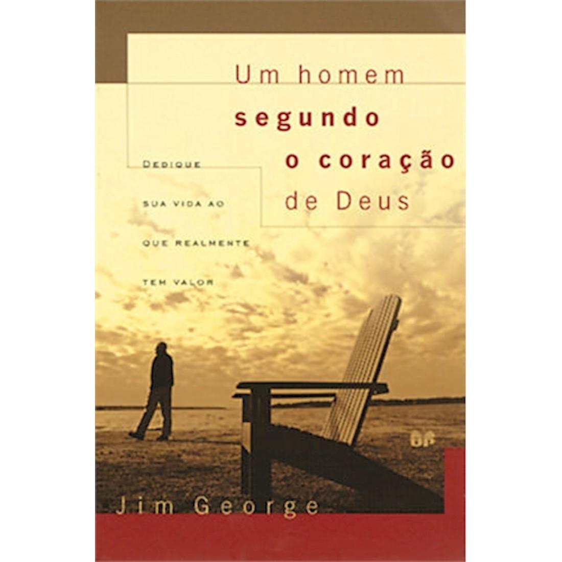 Livro Um Homem Segundo o Coração de Deus