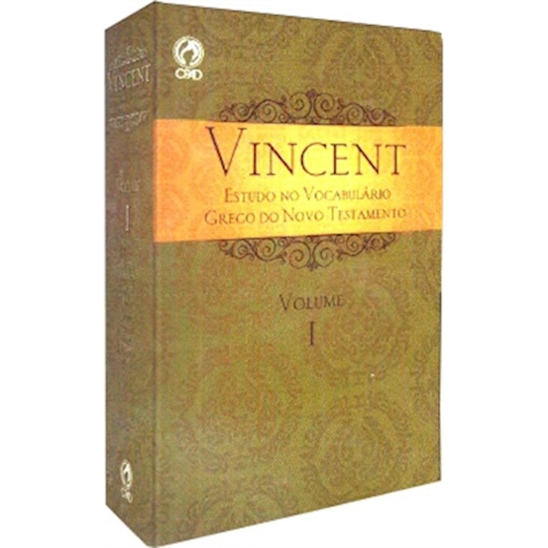 Livro Vincent - Estudo no Vocabulário Grego do Novo Testamento - VOL 1