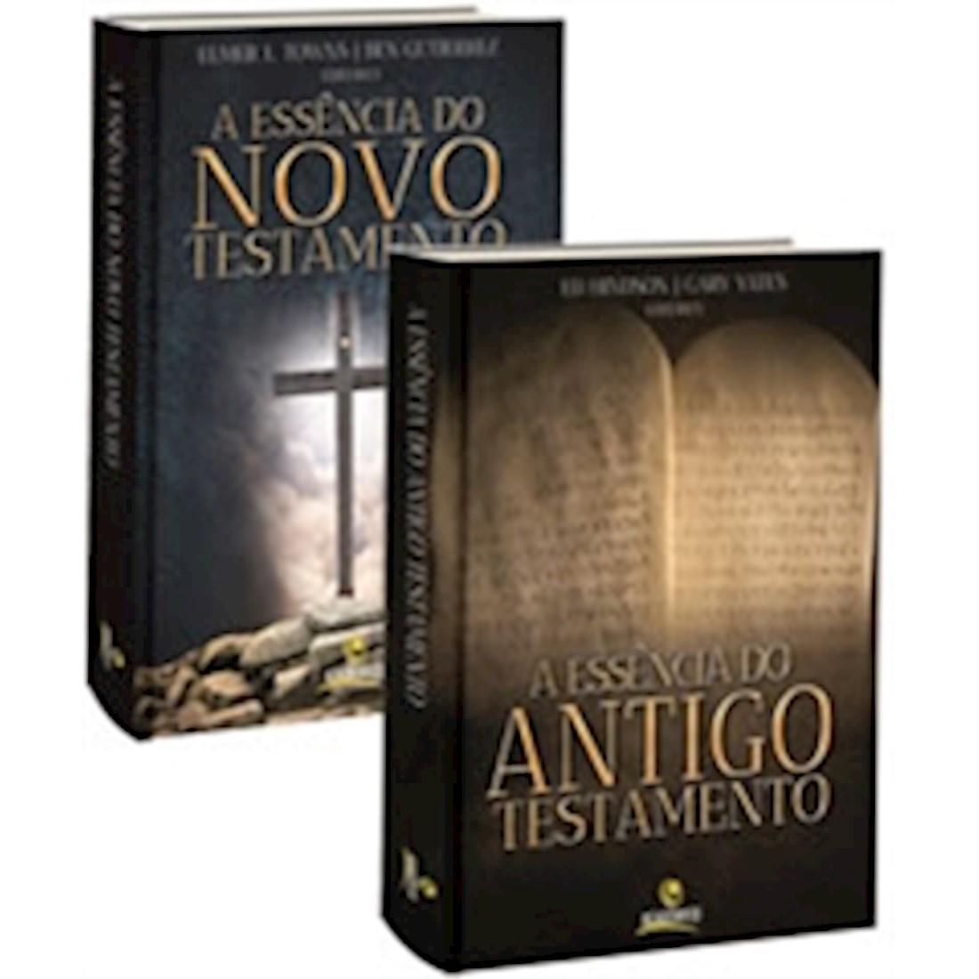 Livros A Essência do Antigo Testamento e a Essência do Novo Testamento