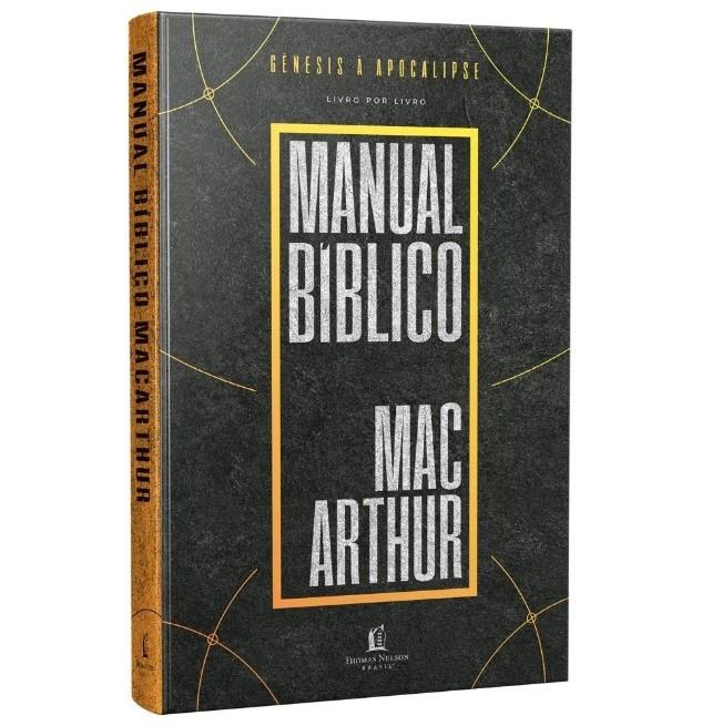 Manual Bíblico MacArthur - 2ª Edição