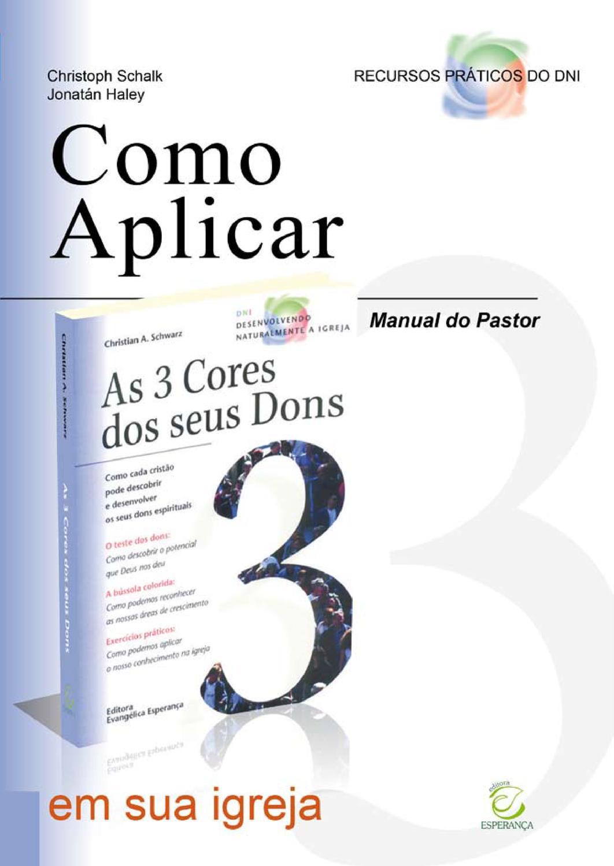 Manual do Pastor para Ministérios Orientados pelos Dons