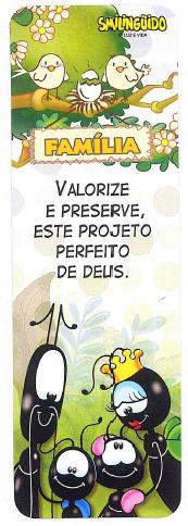 Marca Página Smilingüido Kit com 50 Unid. - Valorize e Preserve... (Tema Único)