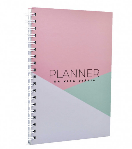 Planner da Vida Diária - Geometrica