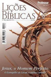 Revista Escola Dominical   Adultos - Professor - Letra Grande (2º Trimestre - 2015)