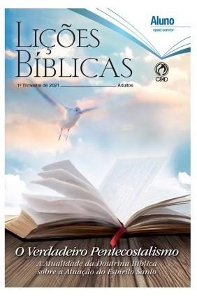 Revista Escola Dominical   Lições Bíblicas - Adultos (1º Trimestre - 2021)