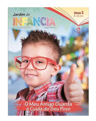 Revista Escola Dominical | Lições Bíblicas - Jardim de Infância (4º Trimestre - 2021)