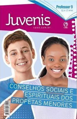 Revista Escola Dominical   Lições Bíblicas - Juvenis - Professor (1º Trimestre - 2020)