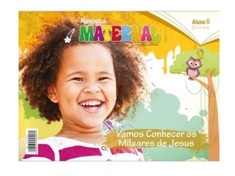 Revista Escola Dominical | Lições Bíblicas - Maternal (1º Trimestre - 2021)