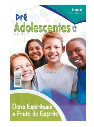 Revista Escola Dominical | Lições Bíblicas - Pré-Adolescentes (2º Trimestre - 2021)
