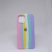 Capa iPhone 12 Pro Max Autêntica Arco-Iris
