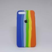 Capa iPhone 7/8 Plus Autêntica Arco-Íris