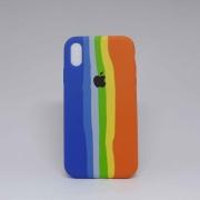 Capa iPhone XR Autêntica Arco-Íris 1