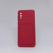 Capa Samsung Galaxy A02 Autêntica Com Porta Cartão