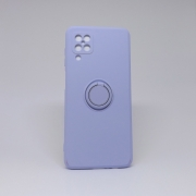 Capa Samsung Galaxy A12 Autêntica com Pop Socket