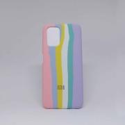 Capa Xiaomi Redmi Note 10 Autêntica Arco-Iris Algodão