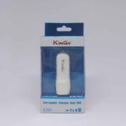 Fonte Veicular Para Celular 2 Portas Usb Kingo