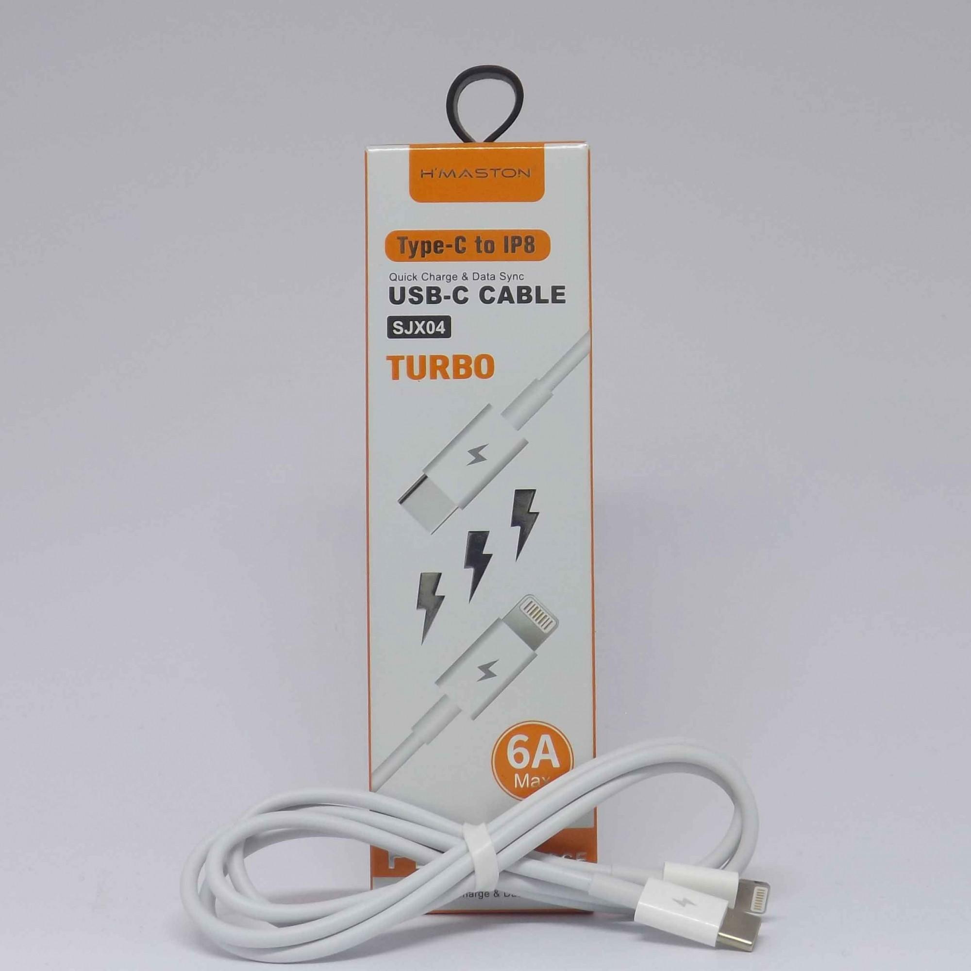 Cabo Usb Type C Para Lightning (iPhone) Hmaston 1m